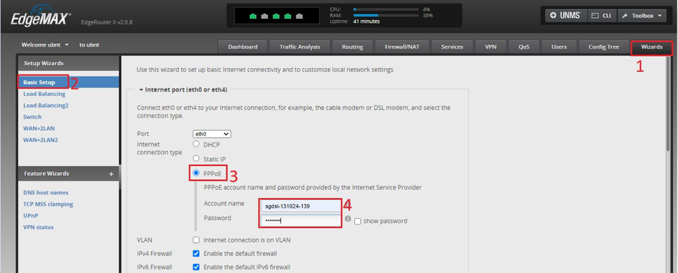 Hướng dẫn cấu hình IPTV FPT trên EdgerRouter