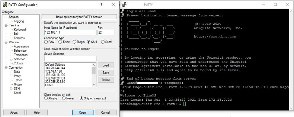 Hướng dẫn cấu hình VPN Client to site với L2TP trên EdgerRouter