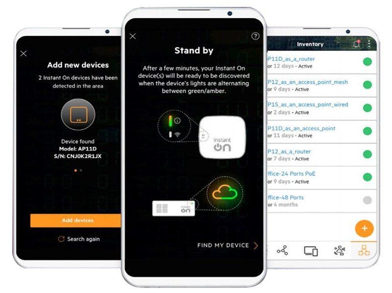 App ứng dụng Aruba Instant On
