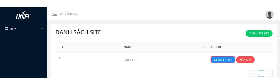 Hướng dẫn tự Adopt thiết bị UniFi vào site trên Cloud FPT