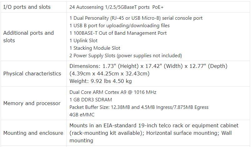 Aruba 2930M 24 HPE Smart Rate PoE+ 1-slot